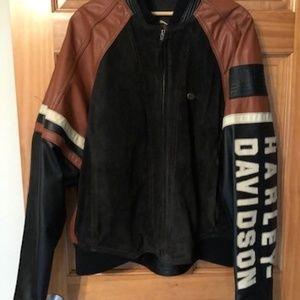 Harley-Davidson Jackets & Coats - Harley Davidson Leather riding jacket